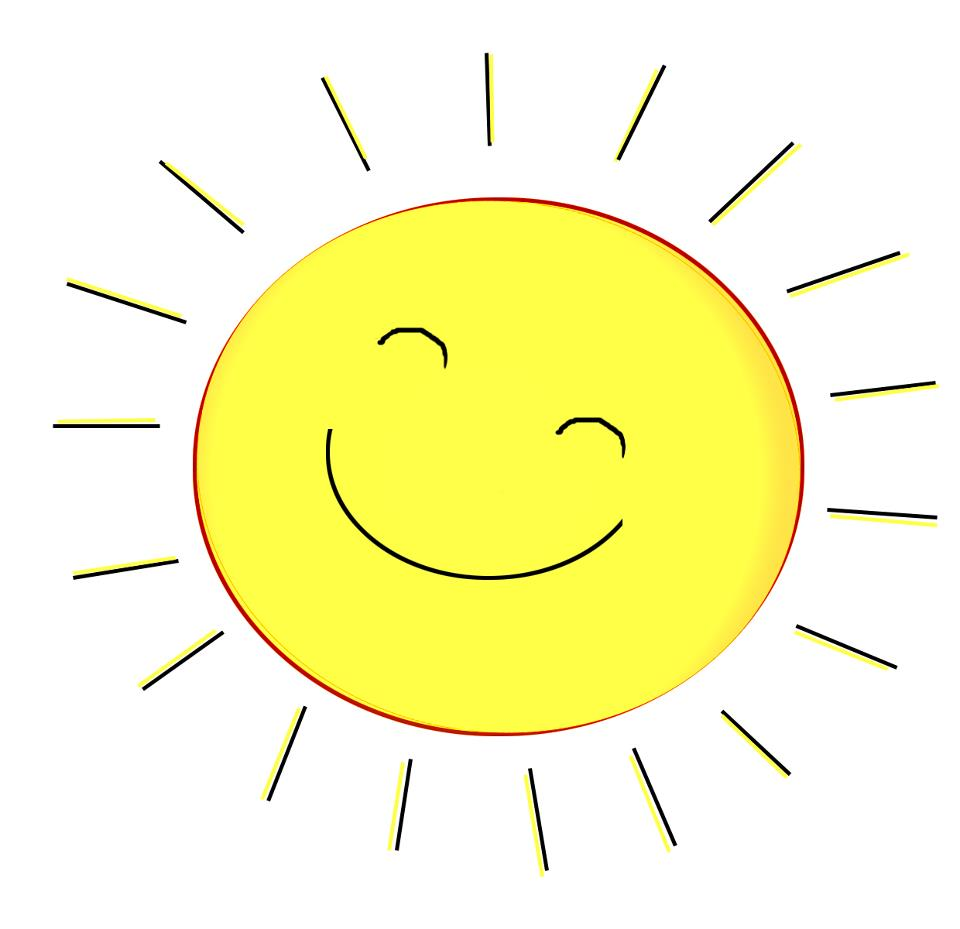 Best Happy Sun Clipart #12676 - Clipartion.com