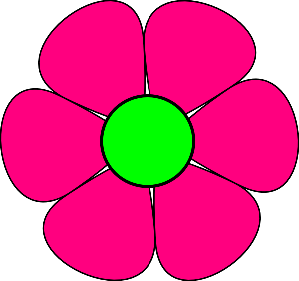 Pink Flower Clip Art Free Clipart Images