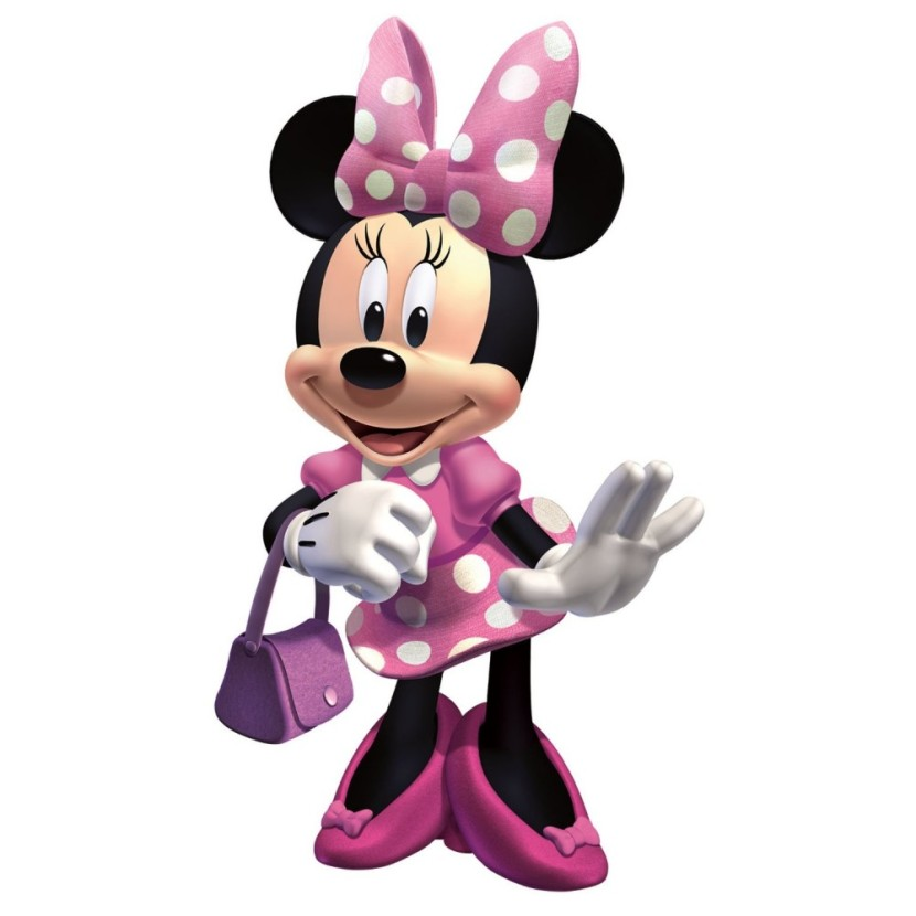 Pink Minnie Mouse Clip Art Free Clipart Images