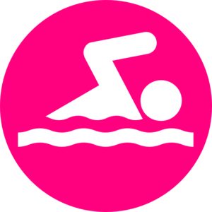 Pink Swimmer Clipart Free Clip Art Images