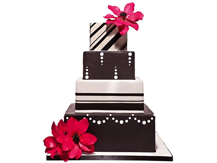 Pink Wedding Cake Clipart Free Clipart Images