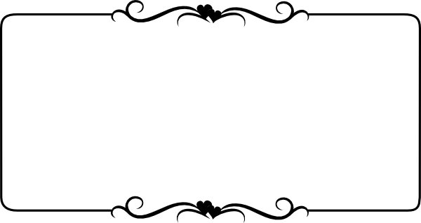 Plain Black And White Borders