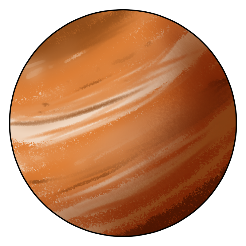 Planet Jupiter Clip Art