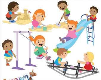 Playground Clipart Etsy