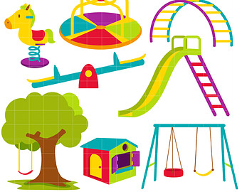 Playground Equipment Clipart Free Clip Art Images