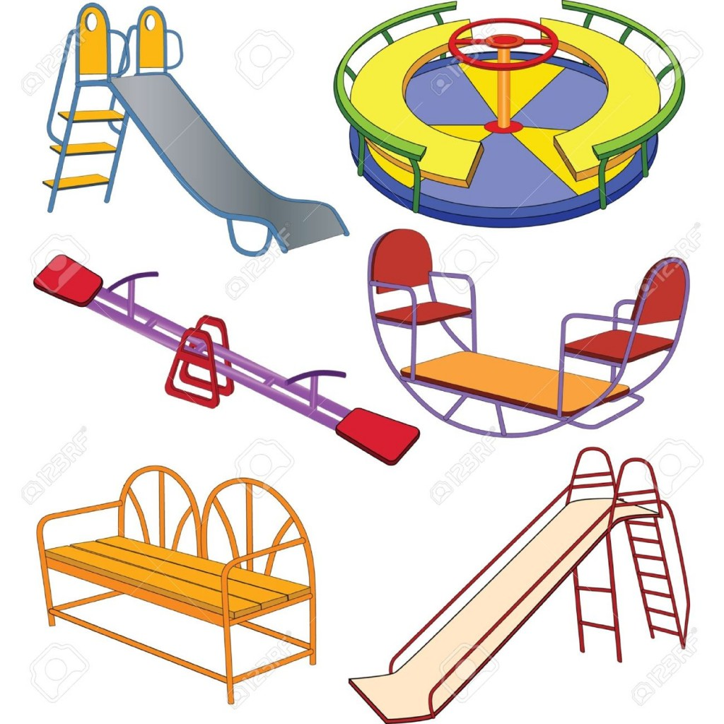 Playground Equipment Stock Illustrations Cliparts And Royalty