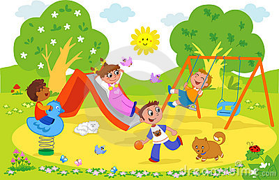 Playground Stock Illustrations 5 Playground Stock