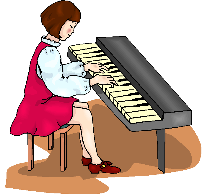 Playing Piano Clip Art Clipart Free Clipart