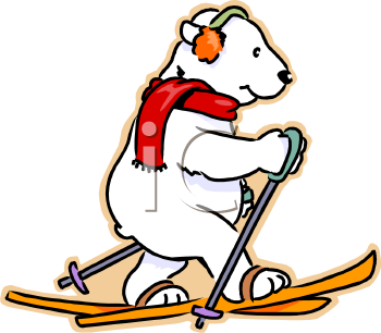 Polar Bear Clip Art For Children Free Clipart Images