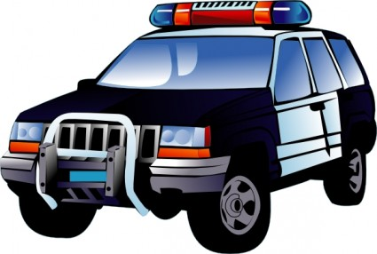 Police Car Clip Art Free Vector In Open Office Drawing