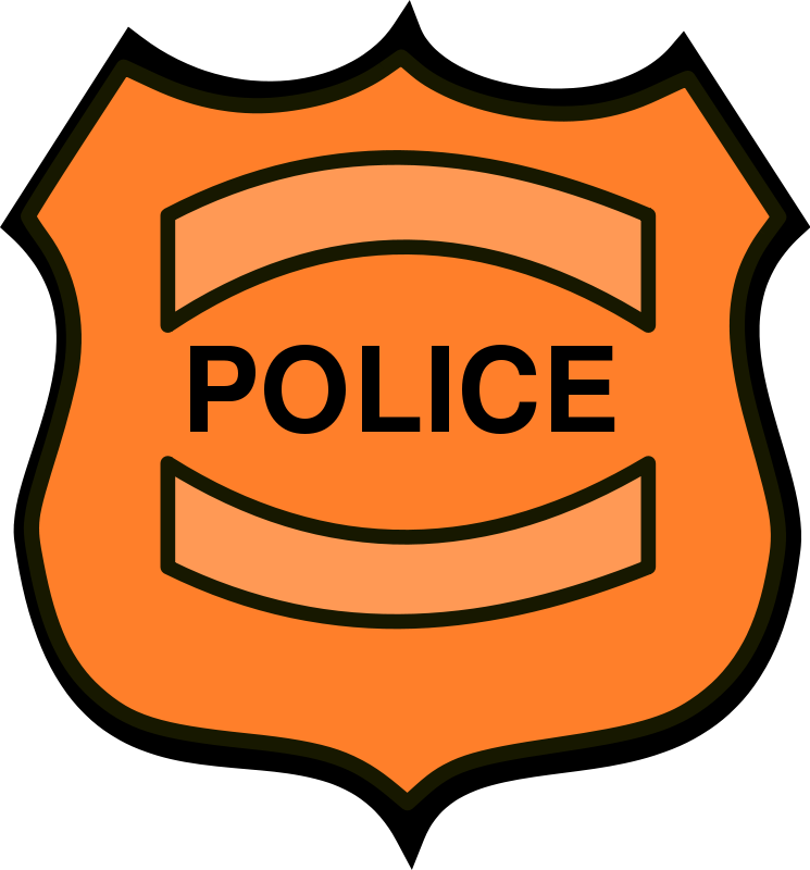 Police Officer Badge Clipart Free Clipart Images