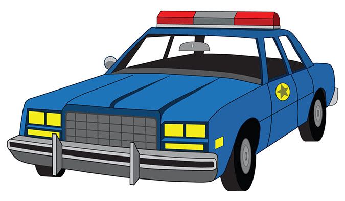 Police Vehicle Clipart
