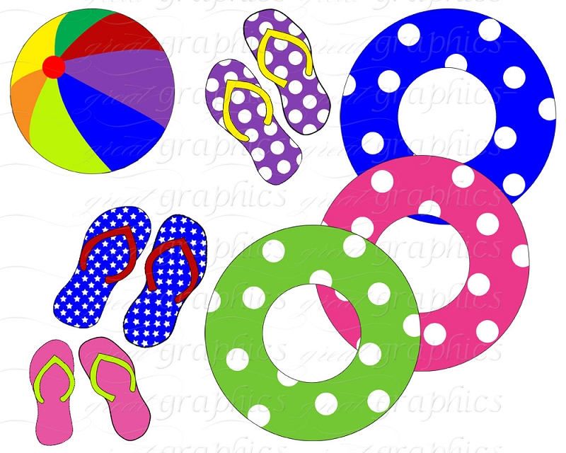 Pool Slides Free Clipart