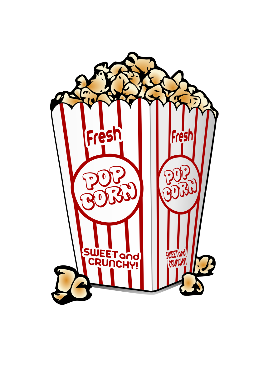 Best Popcorn Clip Art #21855 - Clipartion.com