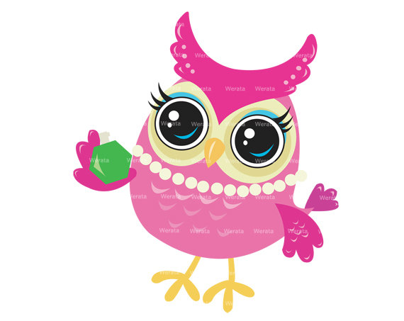 Popular Items For Digital Owl Clipart On Etsy