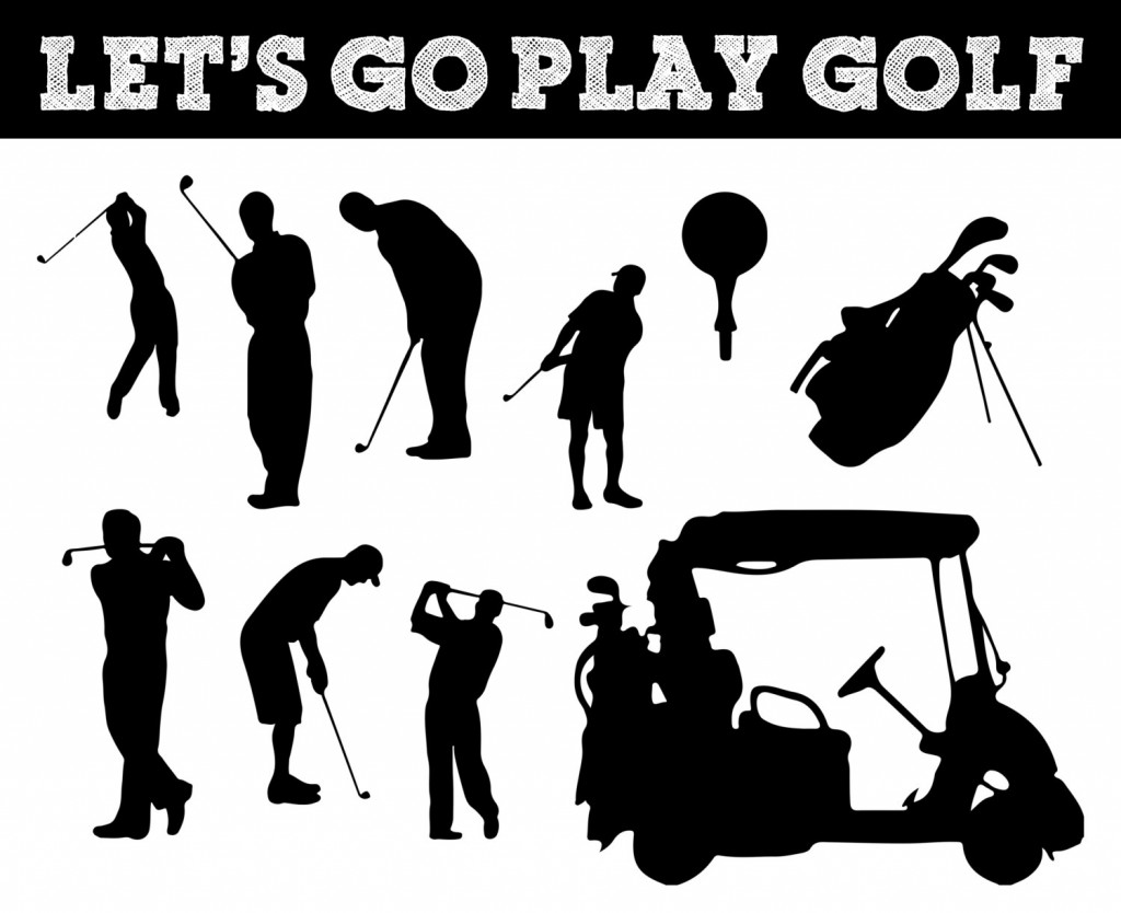 Popular Items For Golf Clipart On Etsy