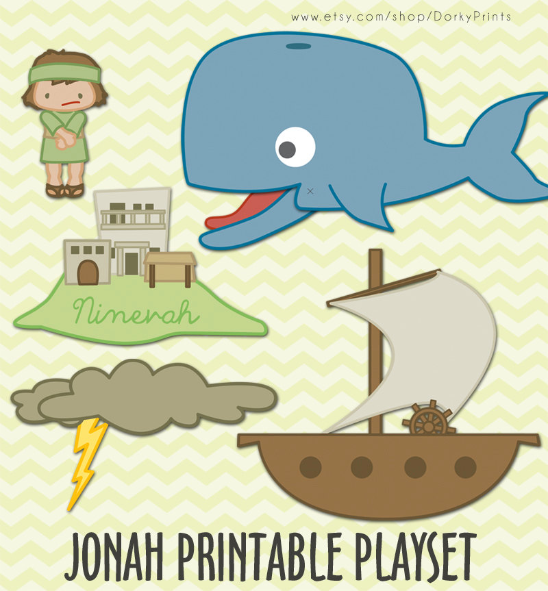 Popular Items For Jonah And The Whale On Etsy