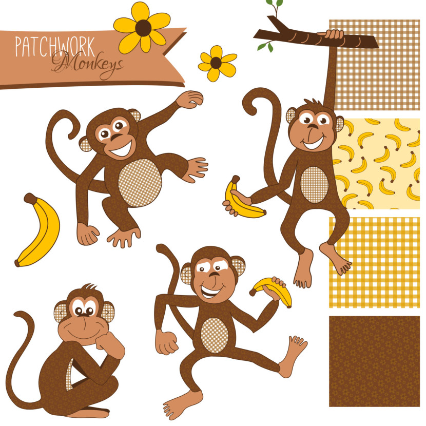 Popular Items For Monkey Image On Etsy