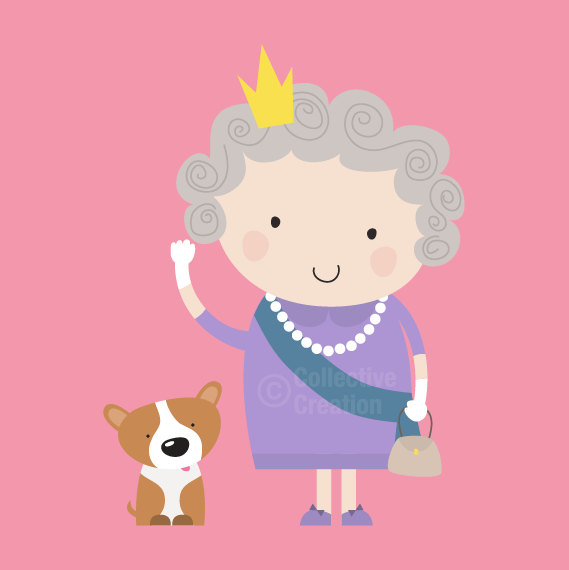 Popular Items For Queen Clipart On Etsy