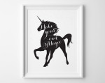 Popular Items For Unicorn Print On Etsy