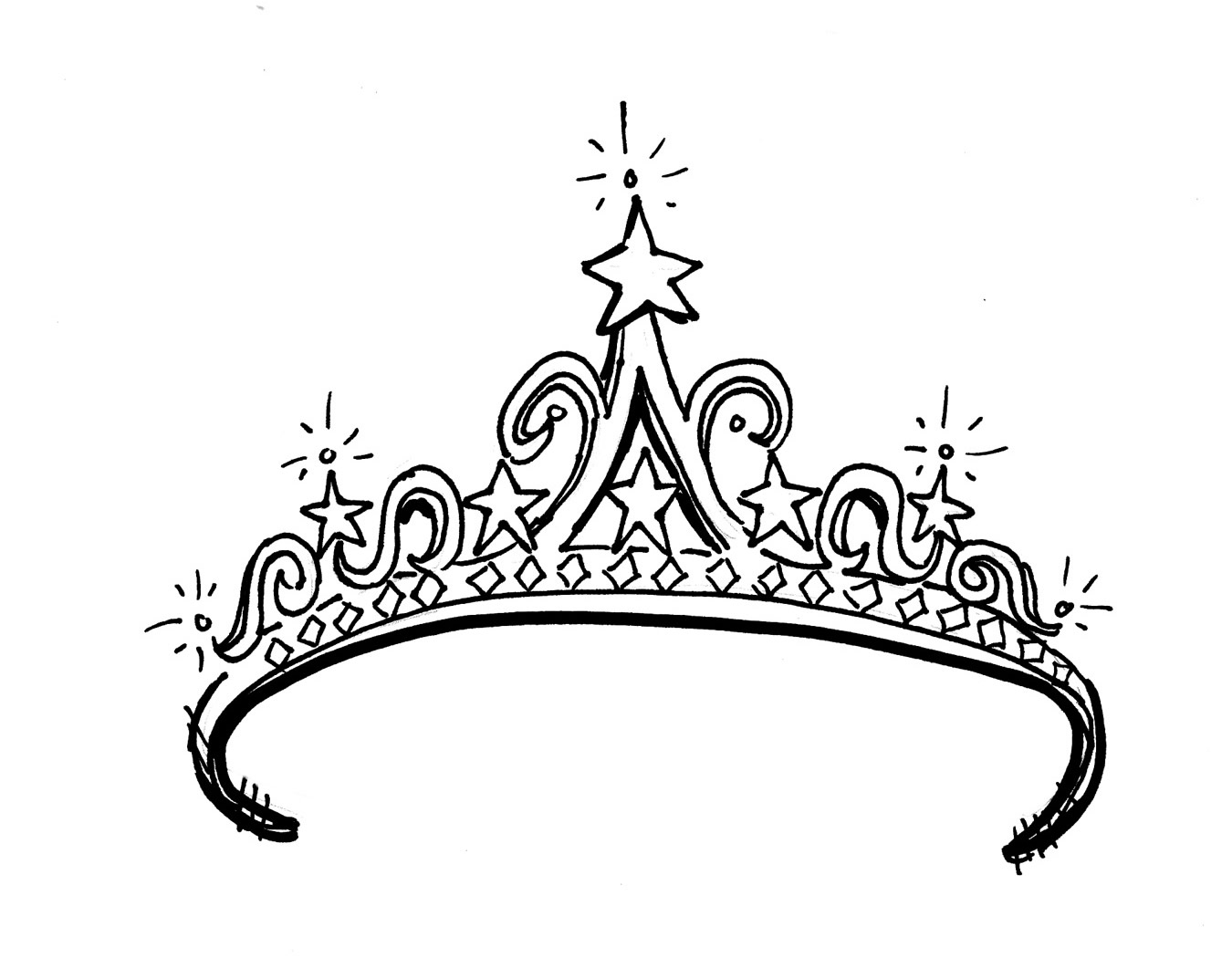 Princess Crown Cartoon