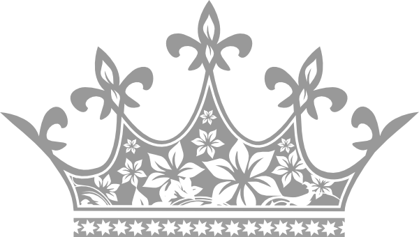 Crown black and white clipart - photo#37