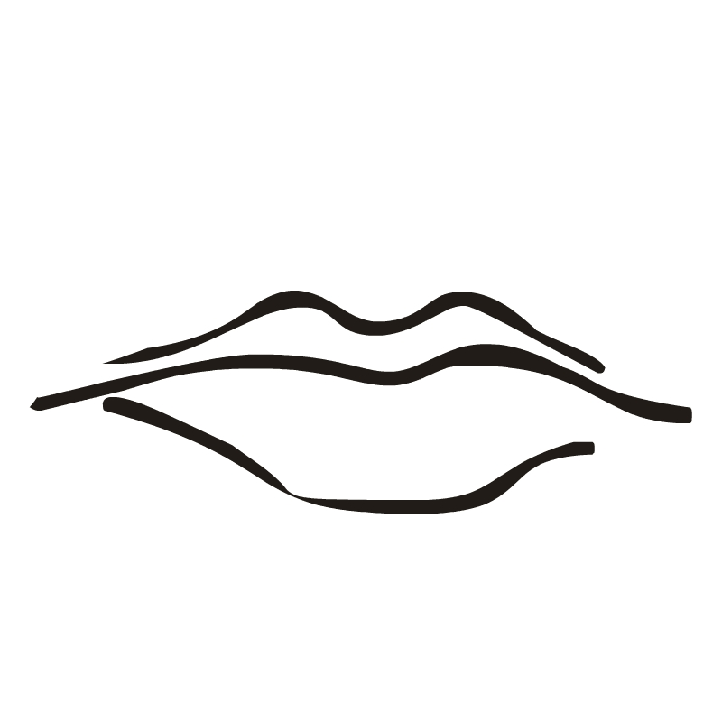 Quiet Lips Clipart Free Clipart Images