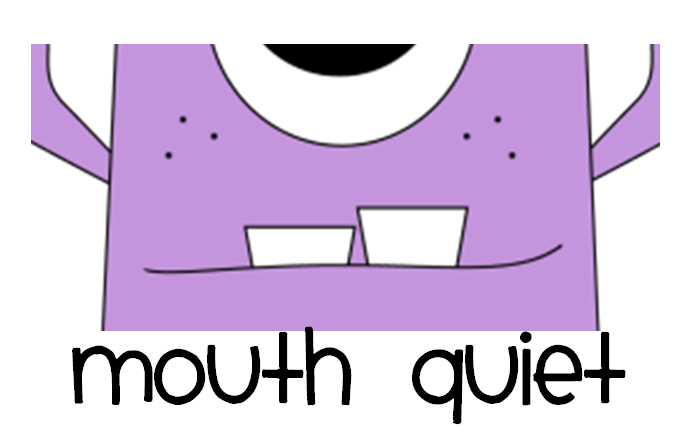 Quiet Mouth Free Clipart