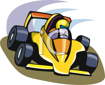 Race Car Clip Art Black And White Free Clipart