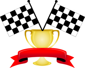 Race Car Finish Line Clipart