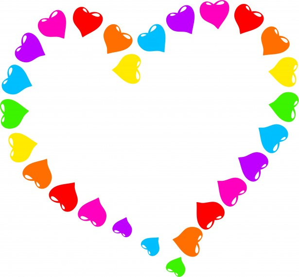 Rainbow Heart Clipart Free Stock Photo Public Domain Pictures