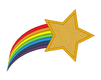 Rainbow Shooting Star Clipart Free Clip Art Images
