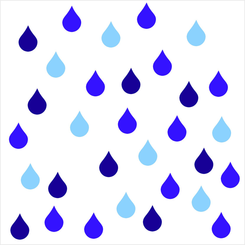 Raindrop Clipart Black And White Free Clipart Images