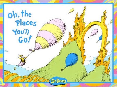 Read Alouds Oh The Places You\'ll Go Youtube