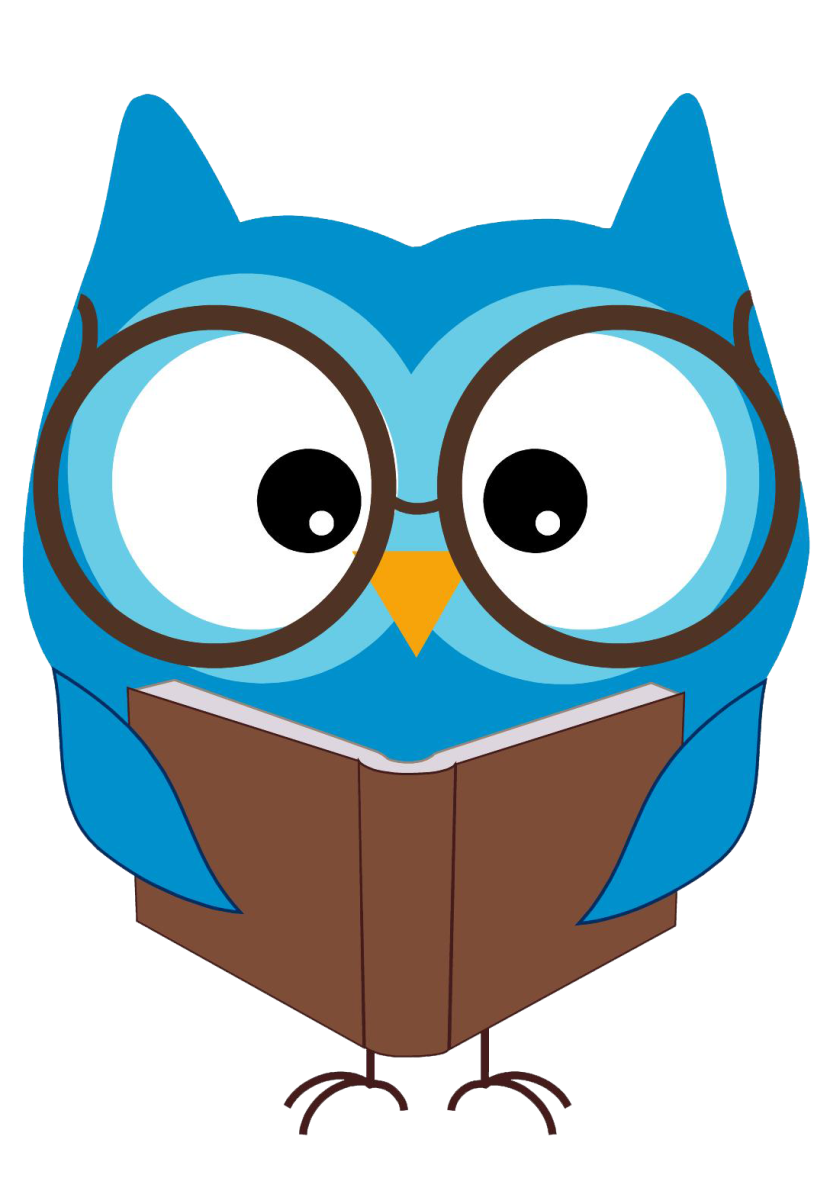 Reading Owl Clip Art