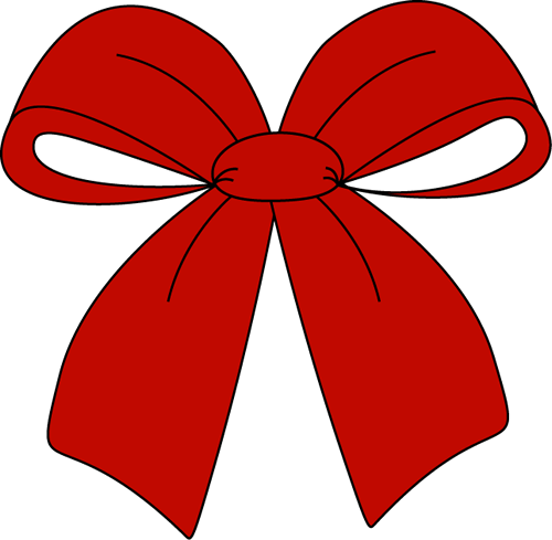 Red Christmas Bow Clip Art Red Christmas Bow Image