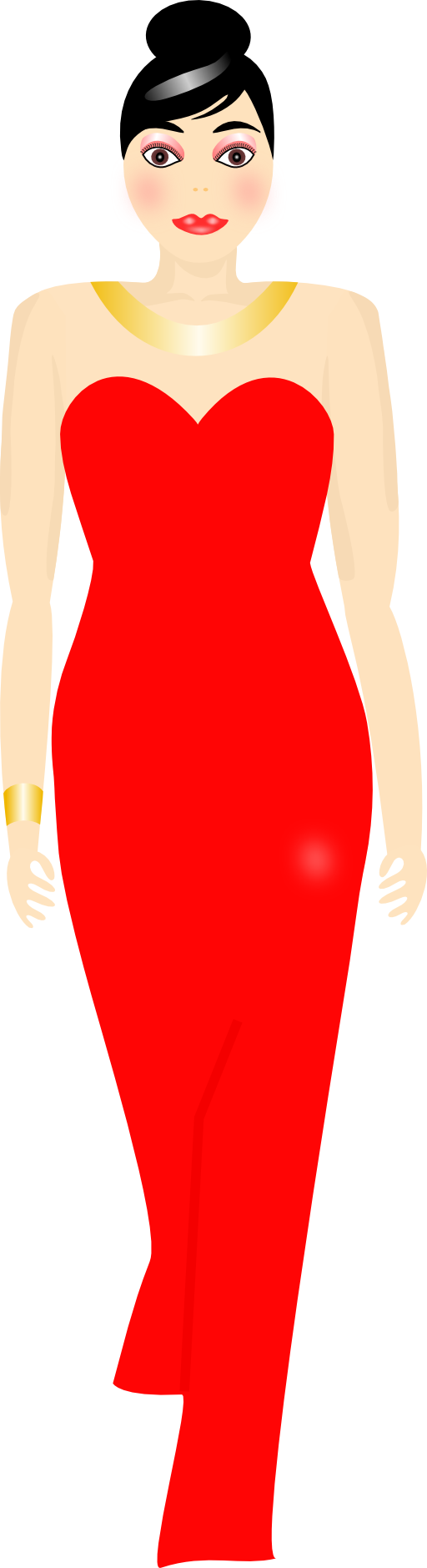 Red Dress Clipart Free Clipart Images
