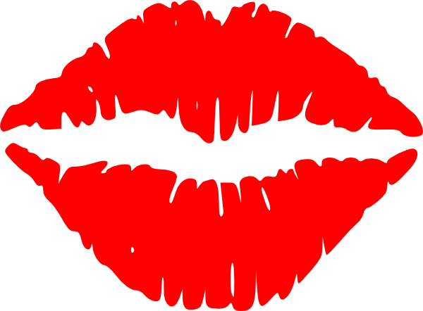 Red Lips Kiss Clipart Free Clip Art Images