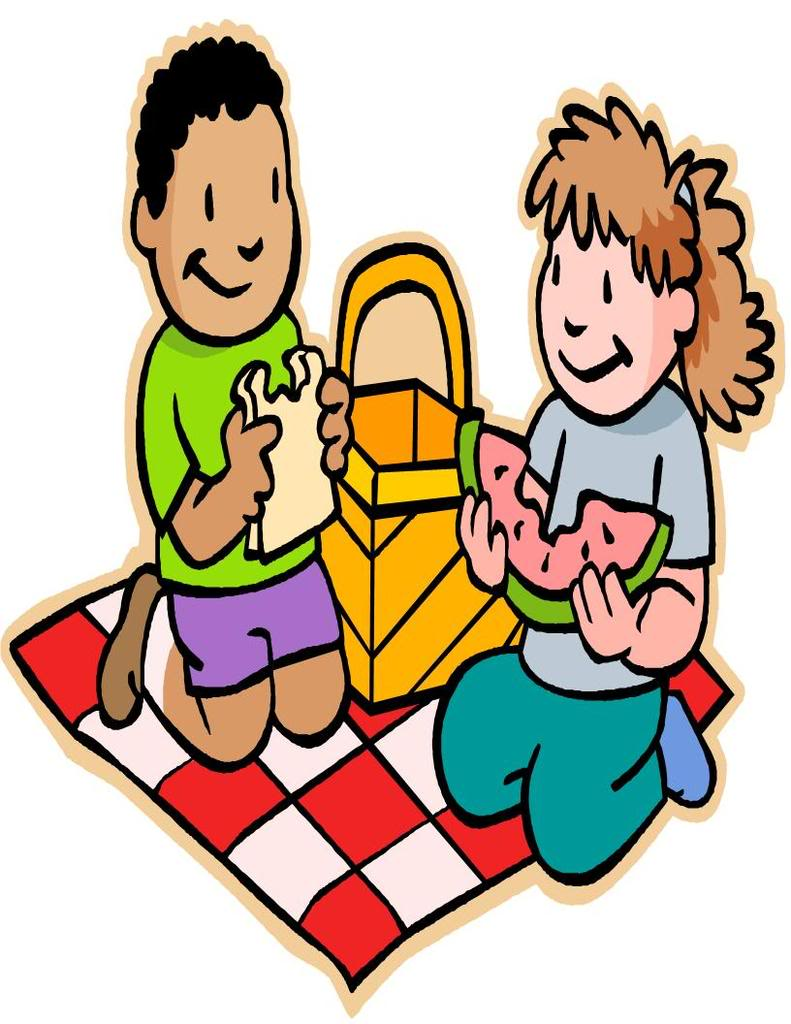 Red Picnic Table Clipart Free Clip Art Images