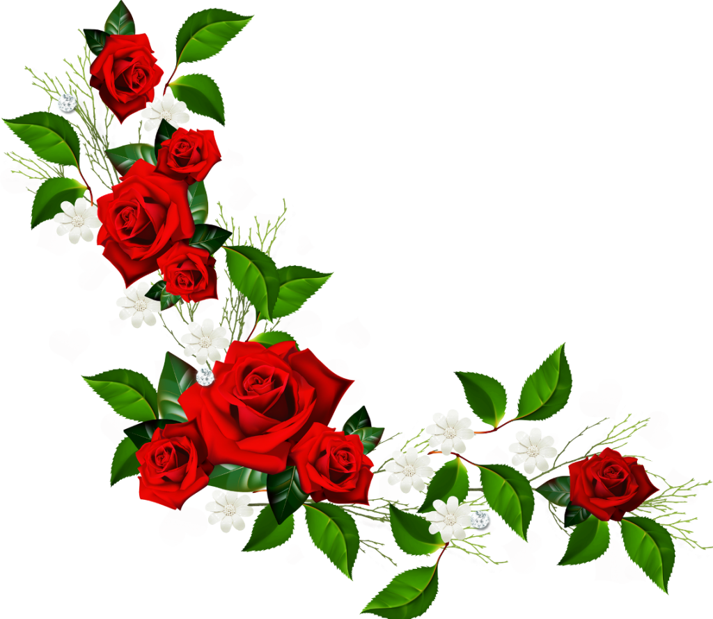 red roses clipart - photo #32