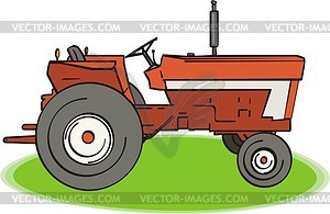 Red Tractor Clipart Free Clip Art Images