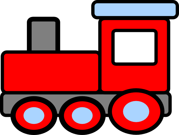 Red Train Clipart Free Clip Art Images