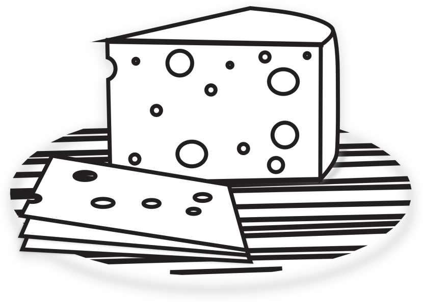 Related Cheese Wheel Black And White Clipart Free Clip Art Images