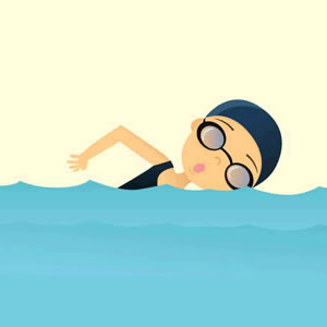 Related To Swimming Illustrations And Clipart Free Clip