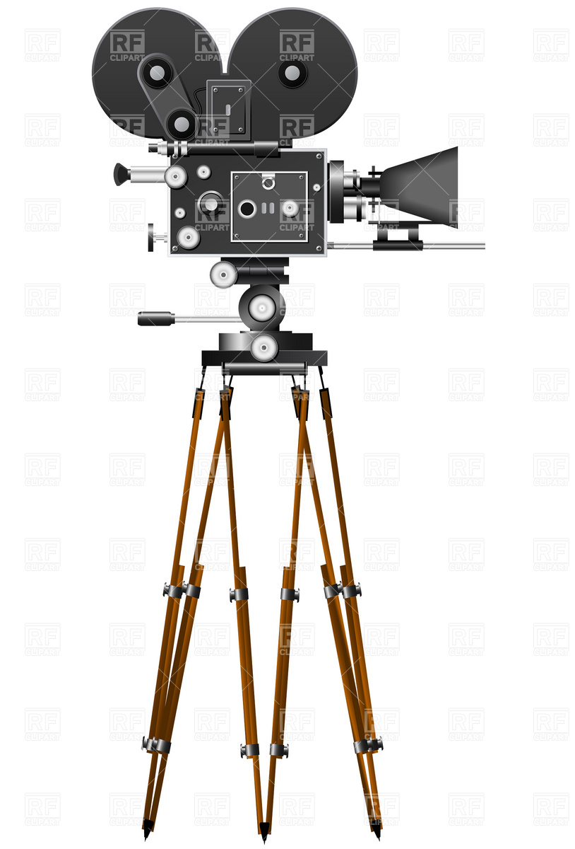 Retro Movie Camera Download Free Clipart Images