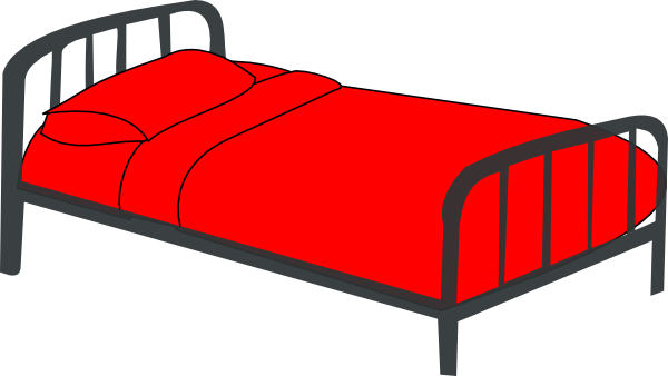 Rfc Double Bed Clipart Free Clip Art Images