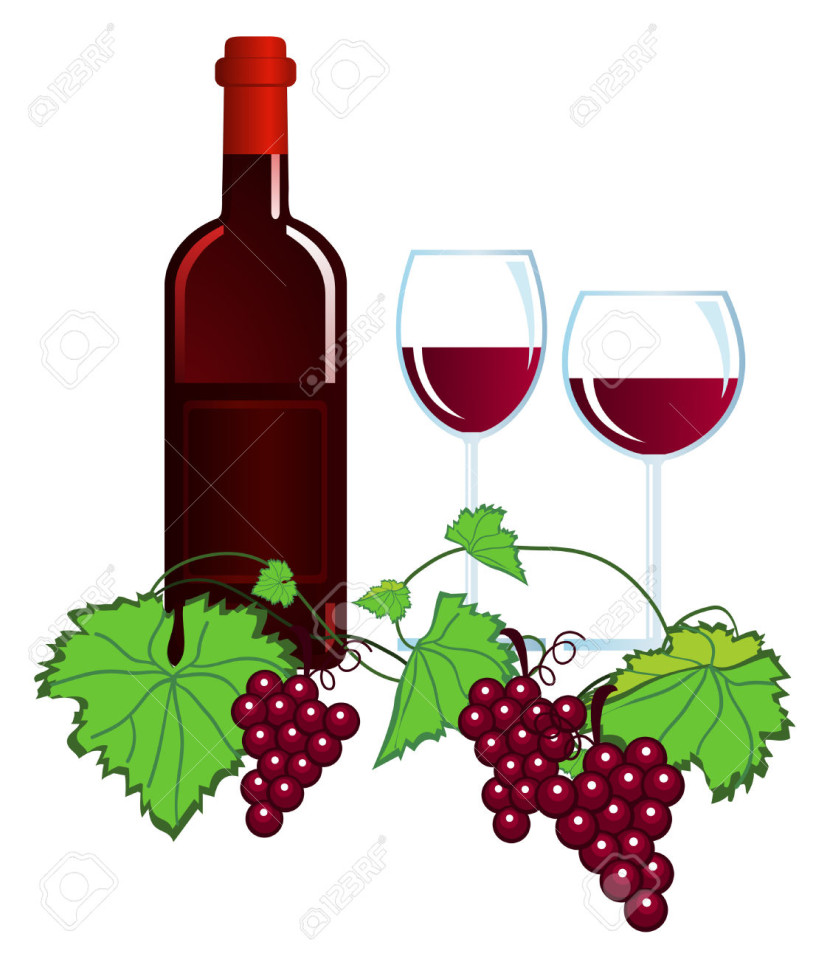 Rose Wine Stock Illustrations Cliparts And Royalty Free Rose Wine