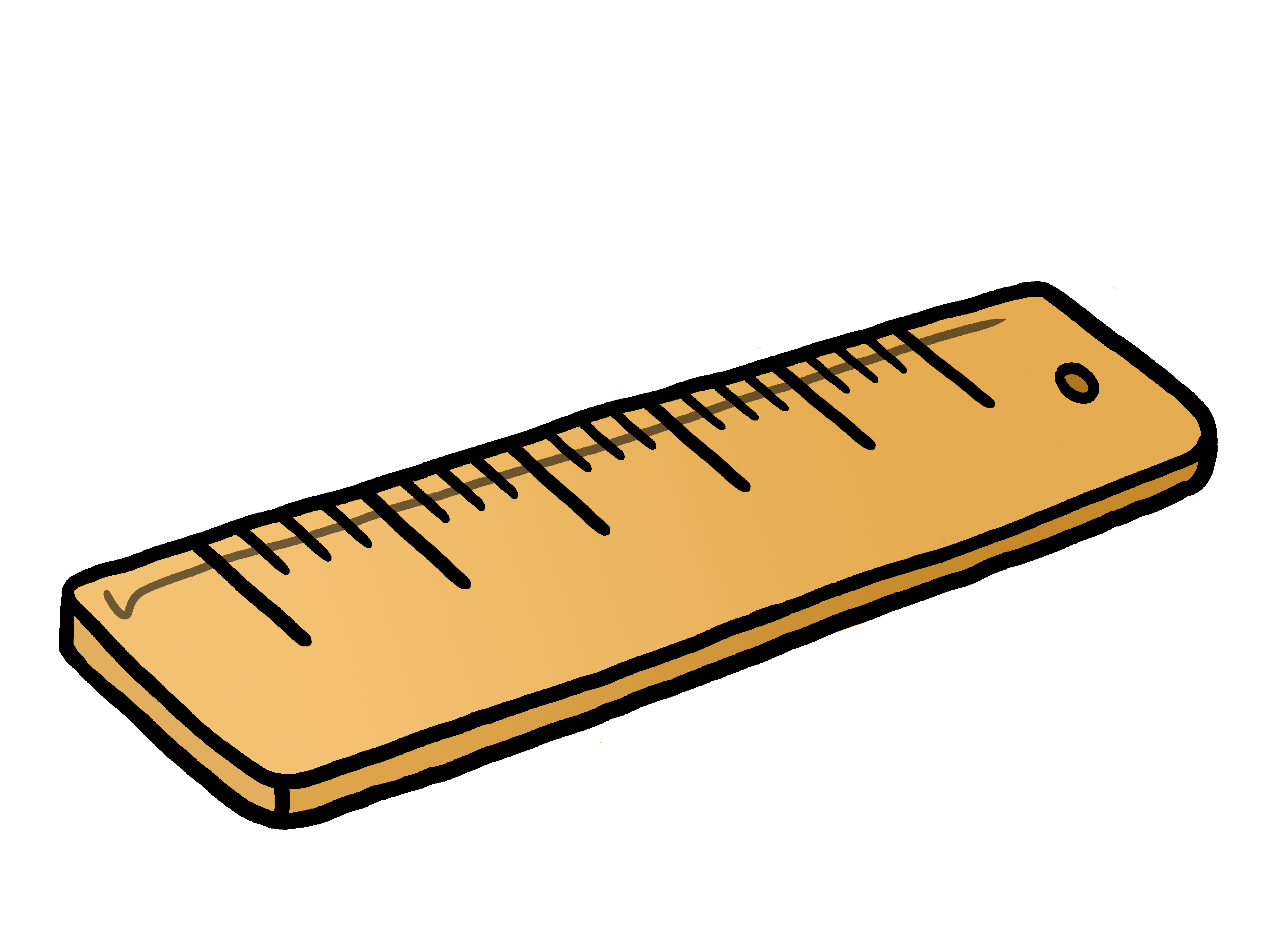 Ruler Clipart Black And White Free Clipart Images
