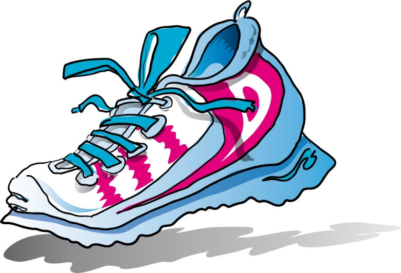 Running Shoe Clipart