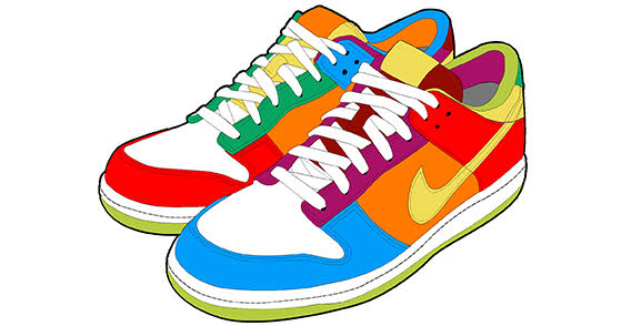 Running Shoes Clipart Free Clipart Images